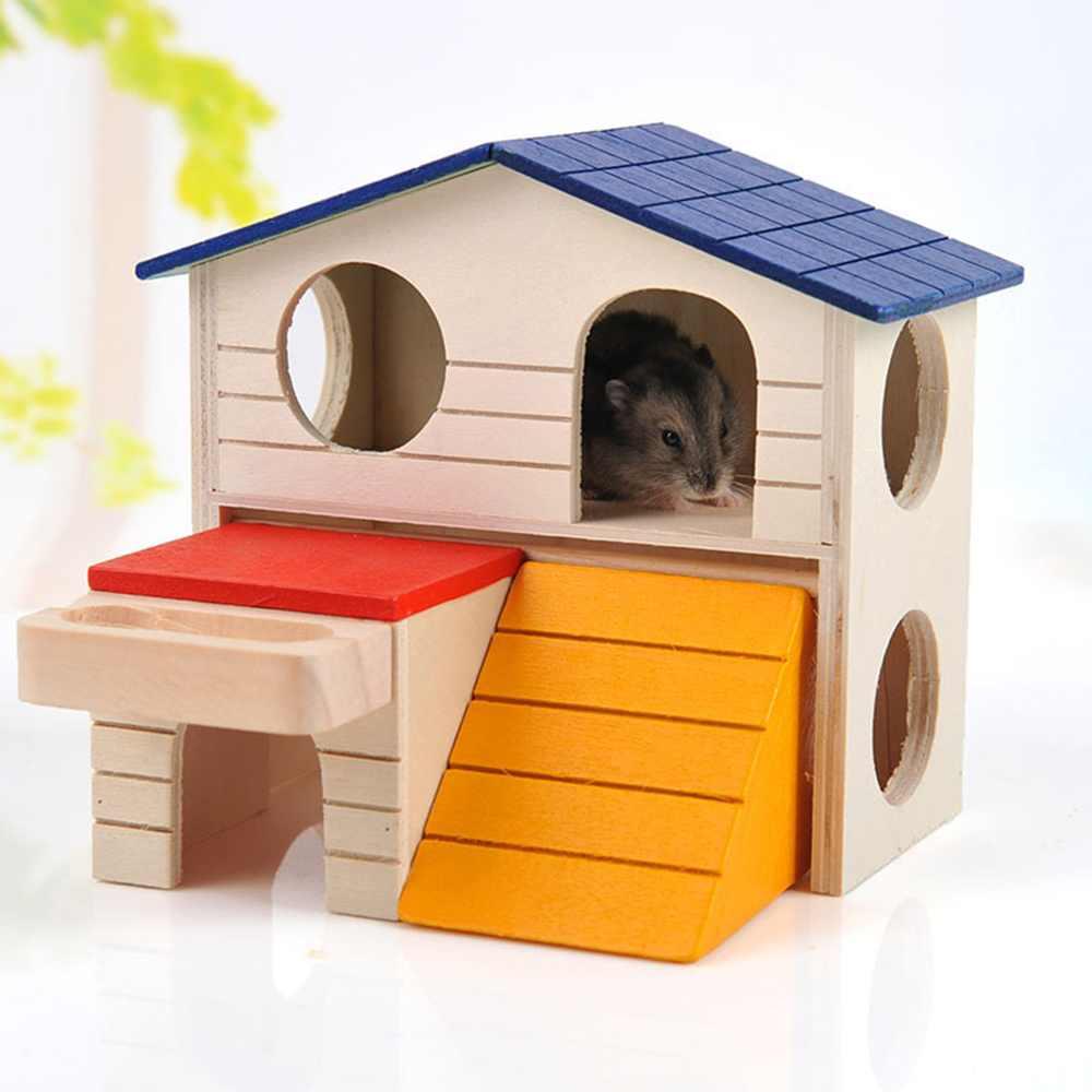Desain Lucu Hamster Tangga Hewan Kecil Hewan Peliharaan Kelinci