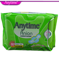 Inernational Anytime Brand (2 Packs = 20 Pcs) Sanitary Towels Absorbing Pad For Women
