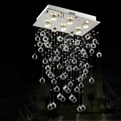 Aus Dem Ausland Importiert Beste Preis Mordern Lampe Treppen K9 Kristall Kronleuchter Villa Luxus Hotel Mode Treppe Decke Licht Led Lange Droplight