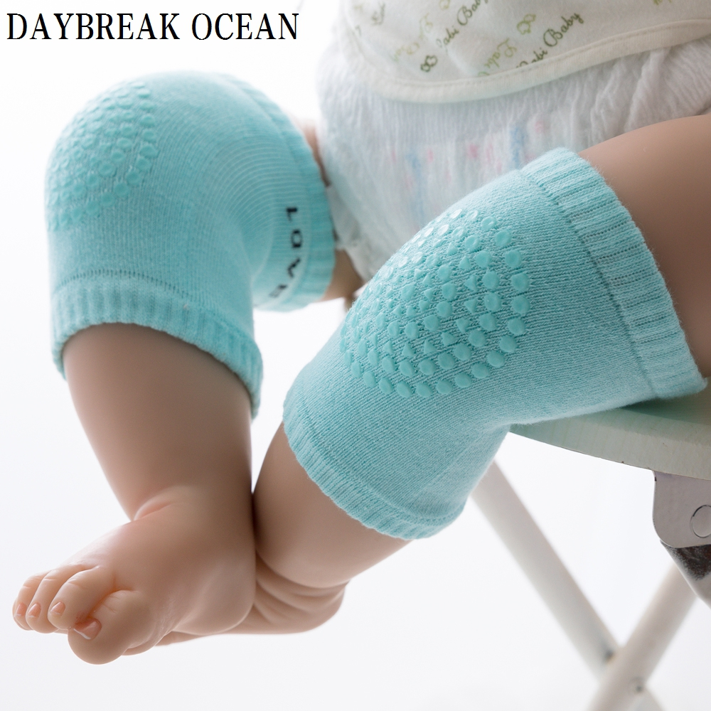 Toddler Kids Kneepad Protector Soft Thicken Terry Non-Slip Dispensing Safety Crawling Baby Leg Warmers Well Knee Pads For Child mymei cotton knee pads kids anti slip crawl necessary baby knee protector leg warmers