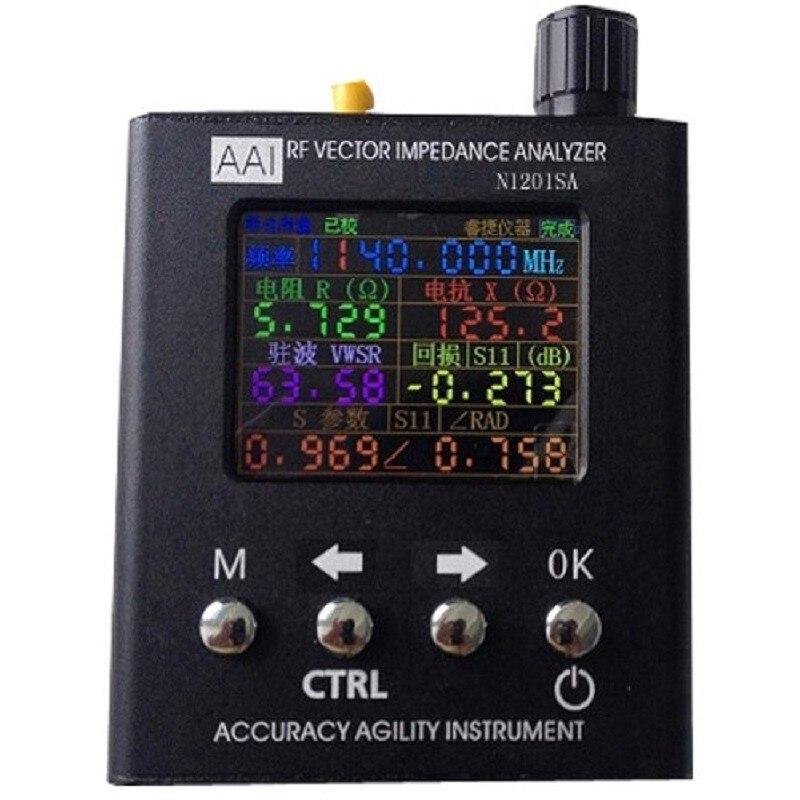 140 MHz-2.7 GHz N1201SA UV RF Impedenza di Vettore ANT SWR Antenna Analyzer Tester del Tester