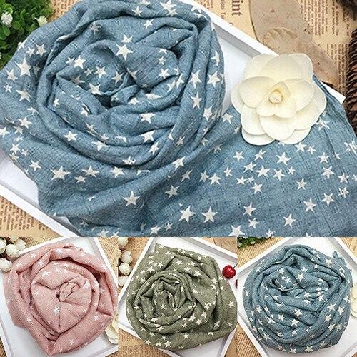 Горячая Распродажа; детская теплая шаль со звездами и пентаграммой для девочек; сезон осень-зима; подарочные накидки; мягкий шарф; N83Y 7FYA