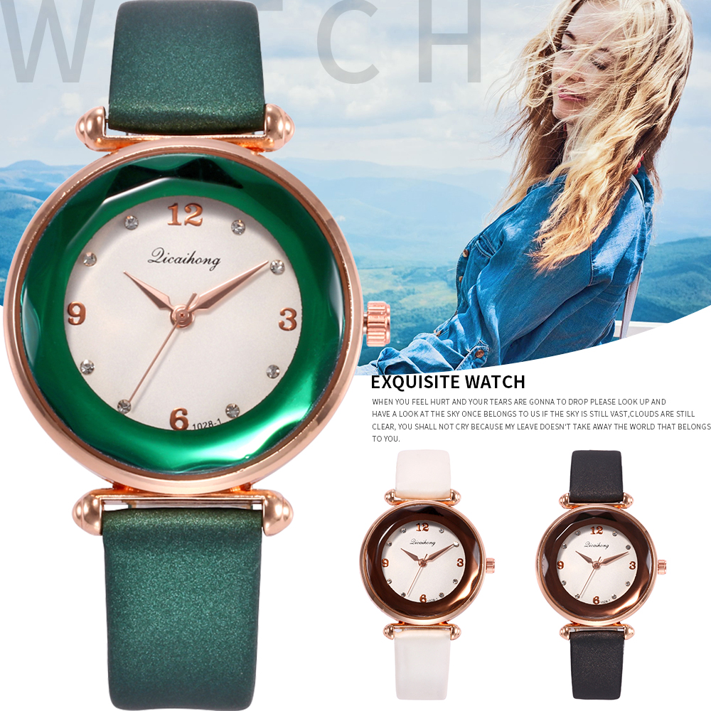 2018 Women's Casual Quartz Leather Band Analog Wrist Watch luxury brand famous ladies watches reloj mujer female New Arrivals