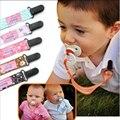 Titular Clips Chupeta Chupeta Cadeia de Moda para As Crianças do bebê Mamilo Botão Fixo Clipe Chupeta Do Bebê Manequim Cadeia Titular Chupeta