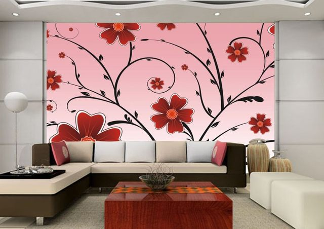 Old Fashioned Living Room Wallpaper Design Festooning - Living Room ...