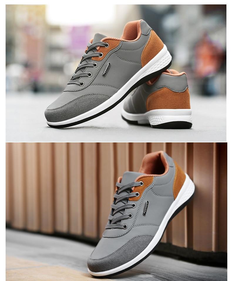 HTB1ykiDlyMnBKNjSZFzq6A qVXaU 2019 Autumn New  Men Shoes Lace-Up Men Fashion Shoes Microfiber Leather Casual Shoes Brand Men Sneakers Winter Men FLats