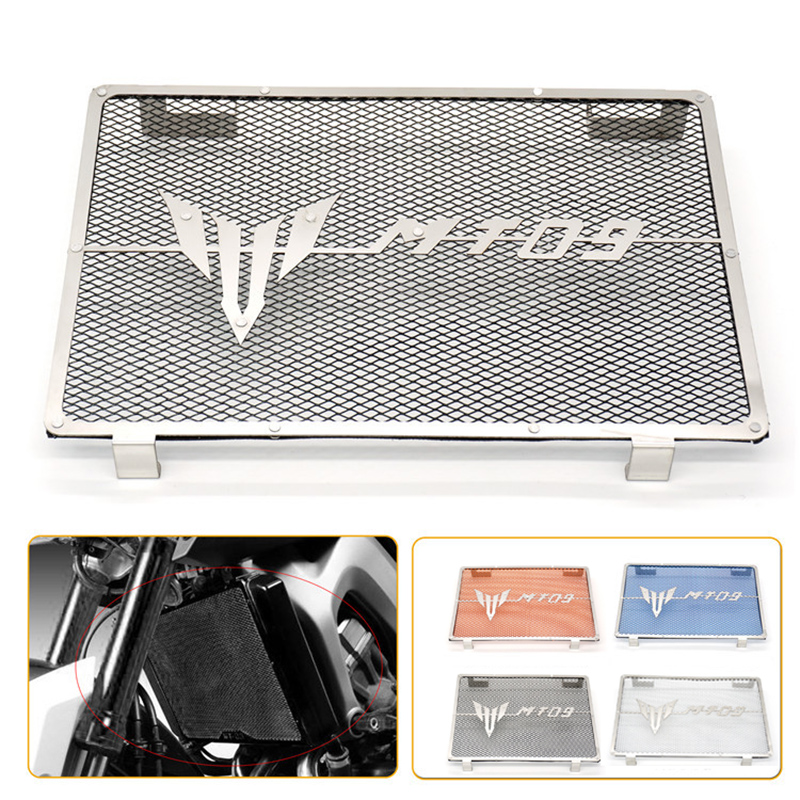 Motorcycle accessories Engine Radiator Grille Protector Grill Guard Cover Protection Case For Yamaha MT09 MT-09 2013-2016 arashi motorcycle parts radiator grille protective cover grill guard protector for 2003 2004 2005 2006 honda cbr600rr cbr 600 rr