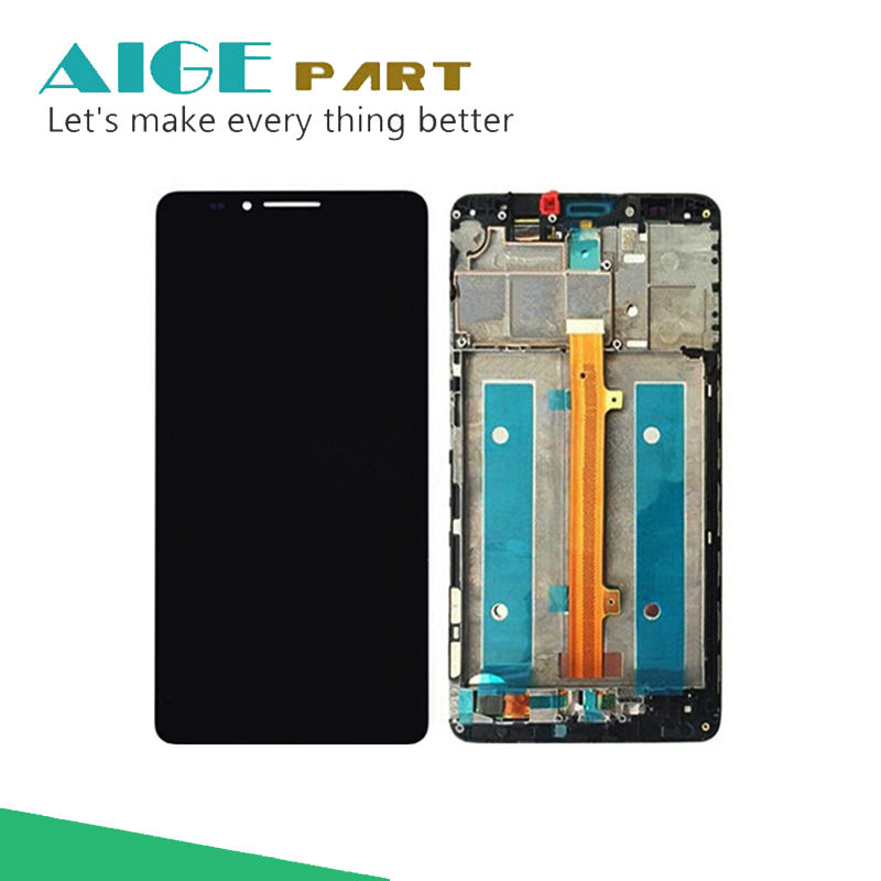 ФОТО Original for Huawei Mate 7 LCD Display And Touch Screen With Frame Assembly For Huawei Mate 7 Smart phone
