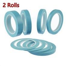 2 рулона высокая термостойкость клейкая ПВХ Виниловая тонкая линия маскирующая лента для автомобиля Авто кузова магазин краски FineLine лента