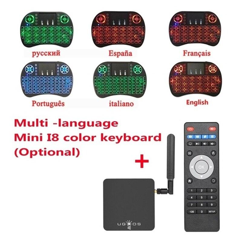 UGOOS AM3 Smart TV Box Amlogic S912 VP9 H.265 UHD 4 karat 2 gb/16 gb Mini PC WiFi & LAN DLNA Miracast HD Media Player Android 7.1