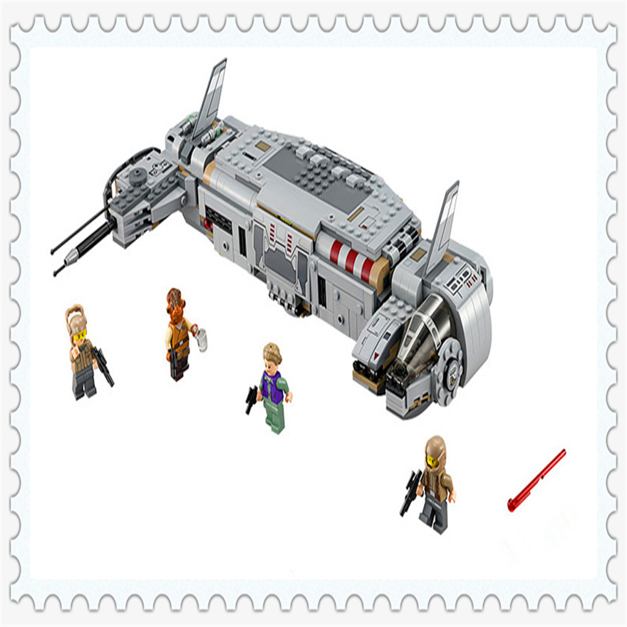 670Pcs Star Wars Resistance Troop Transporter Model Building Block Toys Enlighten 10577 Gift For Children Compatible Legoe 75140 bela 10374 star wars 7 battle droid troop carrier 565pcs building block educational toys for children compatible legoe