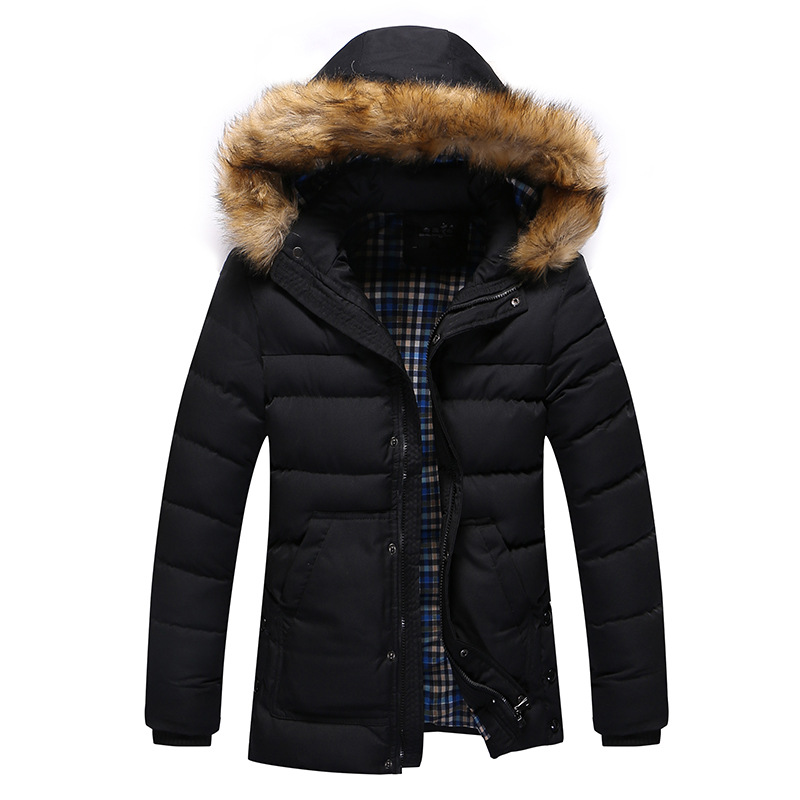 2017 new Brand winter warm Jacket for men hooded coats casual mens thick coat male slim casual cotton padded down outerwear new european men winter coats warm thick hooded coats pure color men coats for free shipping