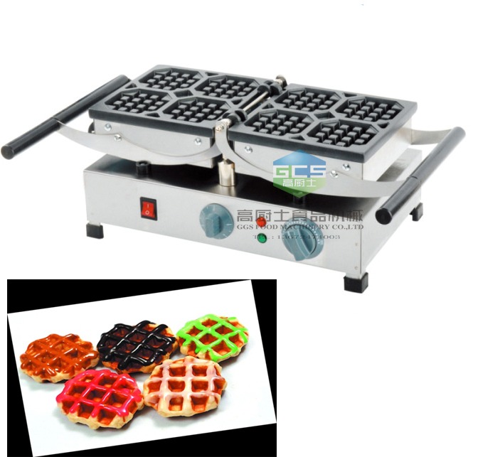 Free shipping cost  waffle size 177*177mm  Belgium waffle maker machine 4 pcs / plate p80 panasonic super high cost complete air cutter torches torch head body straigh machine arc starting 12foot