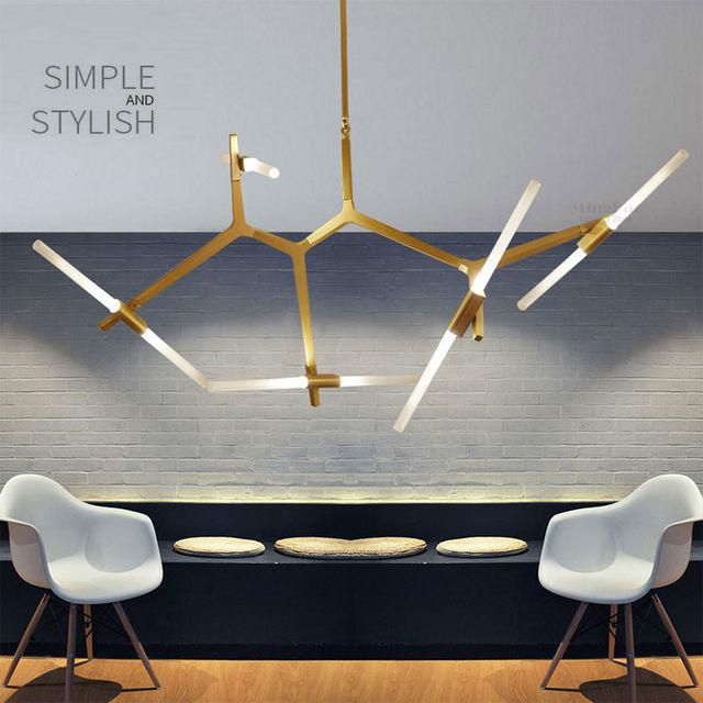 Arte moderna E Minimalista Decorazione Ramo lampade lampade a ...