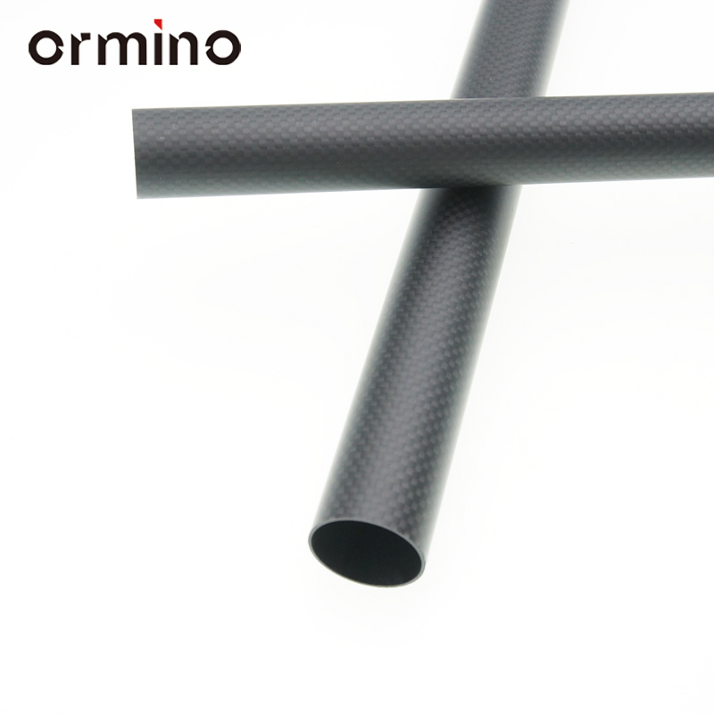 Ormino 3K Carbon Fiber Tube 60X56X500mm Tube 1sheet matte surface 3k 100% carbon fiber plate sheet 2mm thickness