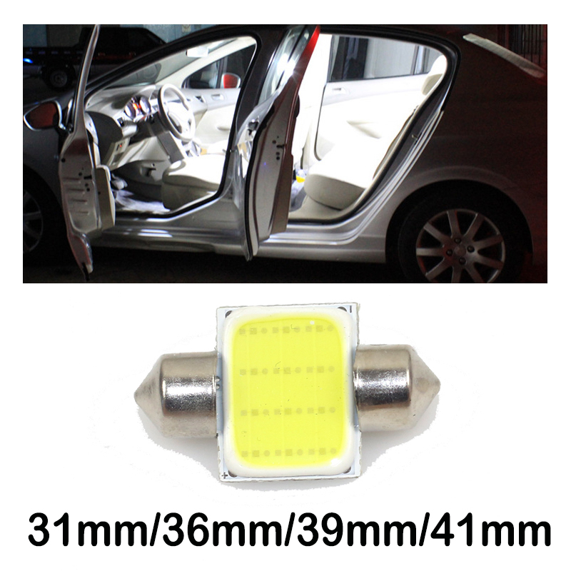 Car LED cob car roof light, double-pointed light fit for Ssangyong kyron rexton korando actyon car accessories image