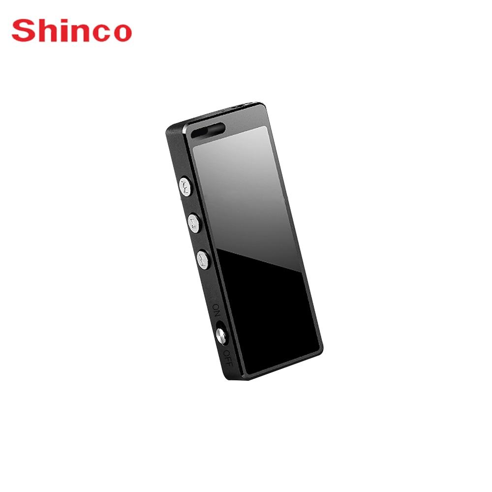 Shinco F1 16 ГБ голос Регистраторы диктофон сплав HIFI аудио-плеер Мини Профессиональный цифровой звуковой активации Регистраторы
