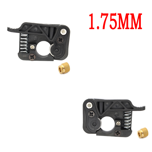 2pcs/lot 3D printer MK9 / MK8 extruder 1.75mm filament wire feed device kits (left and right side) for Makerbot dual extrusion