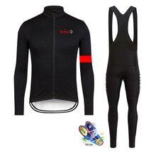 Specializeding Cycling jersey Set 2019 long sleeve bib pants ropa ciclismo bicycle clothing MTB bike jersey Uniform Men clothes цены онлайн
