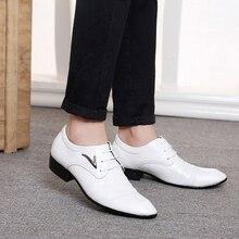 LaiteHebe New Men's Flats Oxfords Loafers sneakers Men Mens Leather Men Buckle Shoe Formal White Men Dress Shoes Luxury Brand LH180