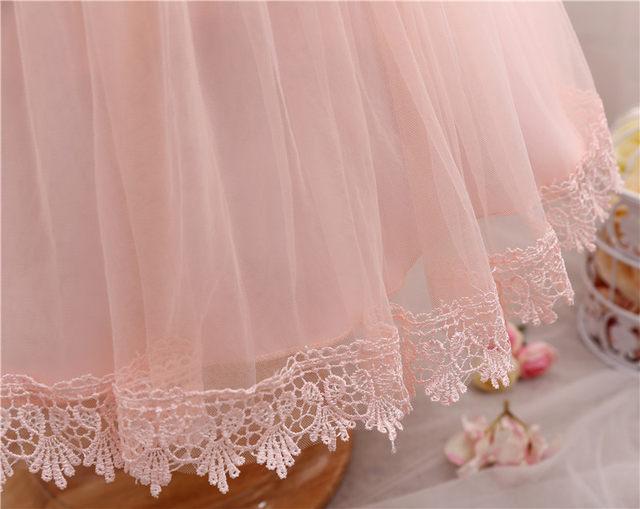 Online Shop Newborn Girl Dress Infant Christening Gown Dress For