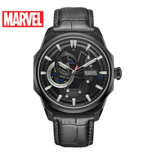 Disney official original Marvel Avengers Iron Men AUTOMATIC watch Waterproof Male Full stainless Steel Luxury SAPHIRE CRYSTAL