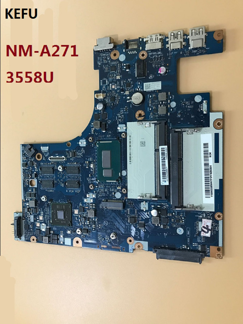 KEFU 3558U ACLUA ACLUB NM A271 Main Board With video card Fit For Lenovo G50 70