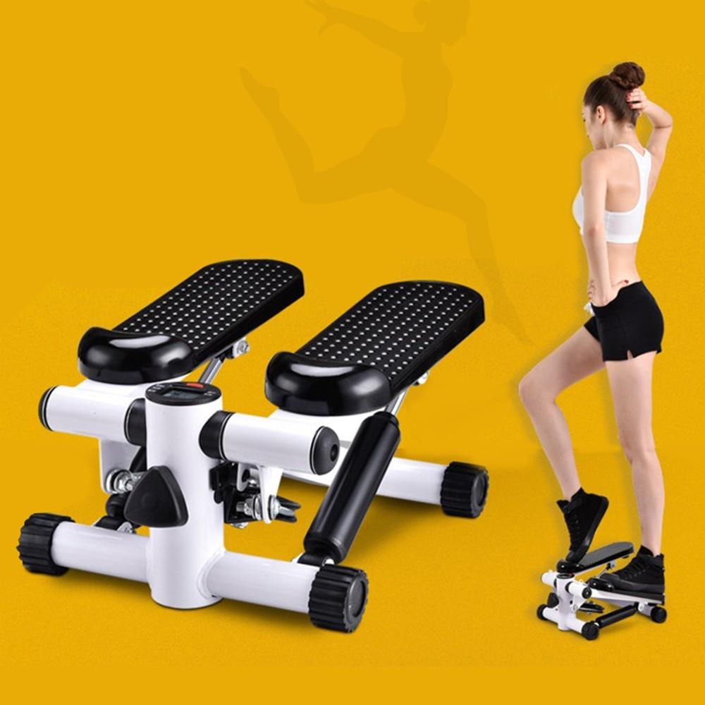 все цены на Fitness equipment household mini treadmill pedal Aerobic Fitness Step Air Stair Climber Stepper Exercise Machine Equipment онлайн