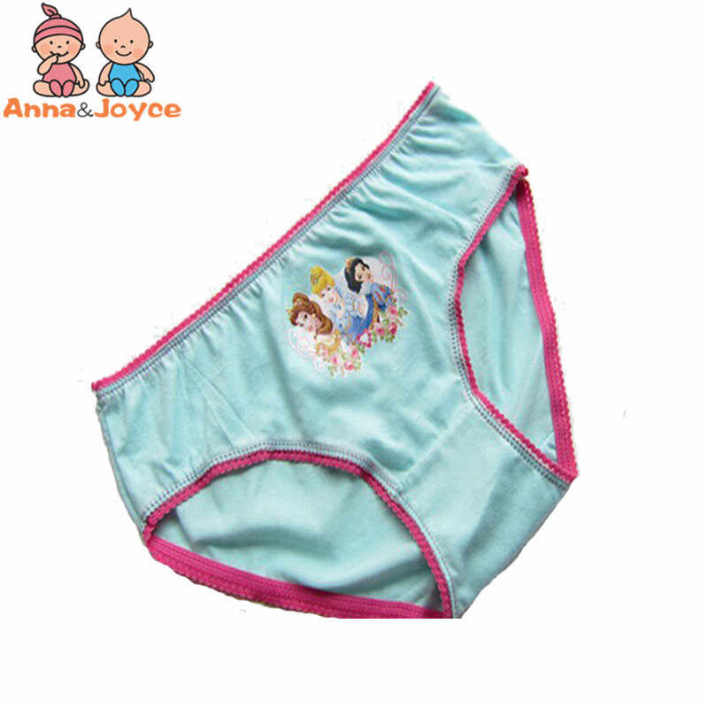 12 unidades/pacote entrega Aleatória Caráter pinkycolor Calcinhas Das Meninas Roupa Interior de Algodão terno 2-10 anos