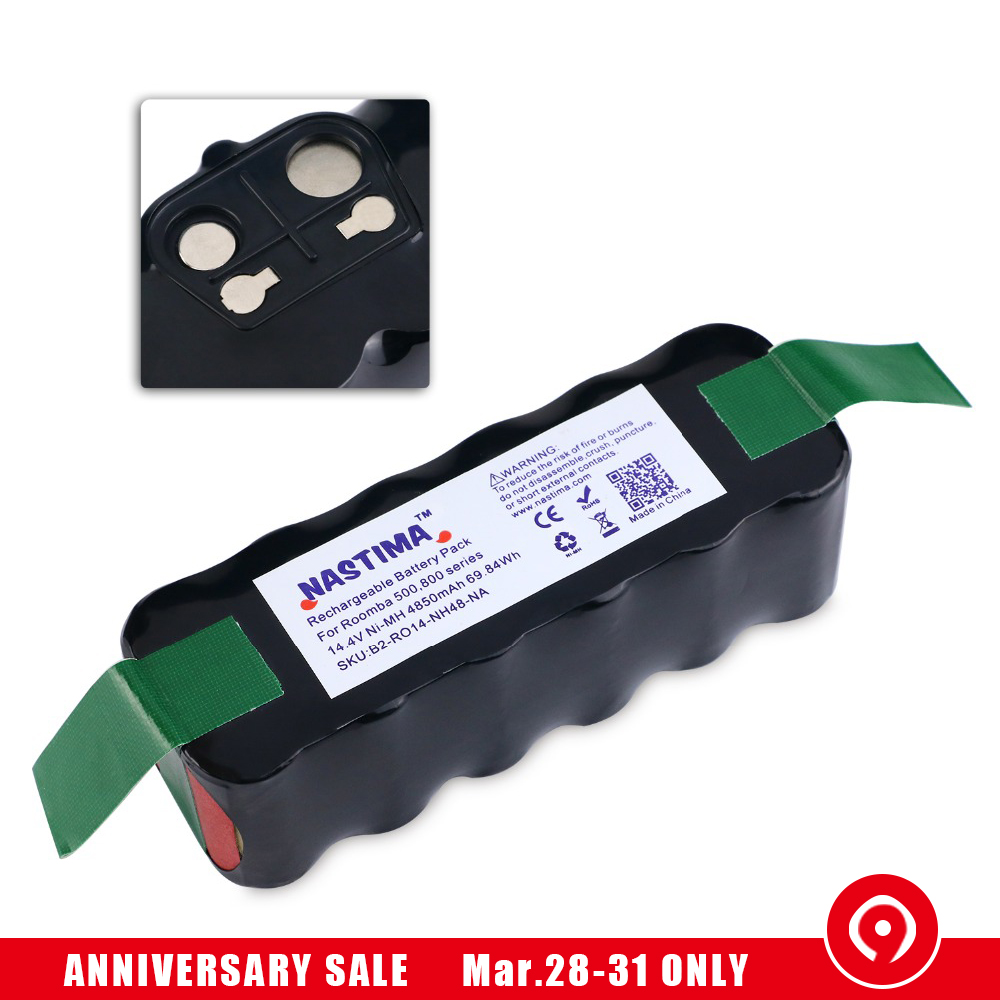 4850mah ni mh battery compatible with irobot roomba r3 rh aliexpress com