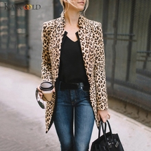 KANCOOLD coats Women Leopard Printed Sexy Winter Warm Wind Coat Cardigan Long fashion new woman coat