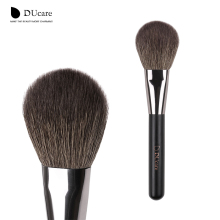 DUcare Round Deluxe Large Powder Brush Blush Brush FanTopest Goat Hair Powder Makeup Brush For Beauty Essential Tool