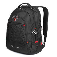 Swisswin Laptop Backpack SW8110I Waterproof Business Travel Backpack Men School Backpack Swiss Back Pack