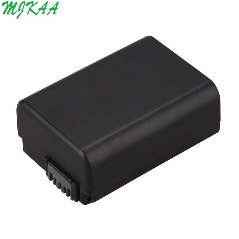 MJKAA NP FW50 7 4V NPFW50 NP FW50 Replacement battery For Sony Alpha 7 a7 7R a7R 7S a7S a3000 a5000 a6000 NEX 5N 5C A55 in Digital Batteries from Consumer Electronics