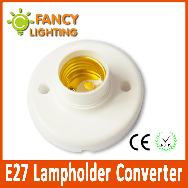 5 pcs/lot E27 Lampholder Converter light holder converter Socket Light Bulb holder light lamp bulb adapter converter