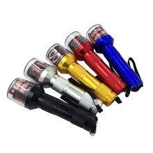 ไฟฉายไฟฟ้า Shape Grinder Crusher Crank ใบยาสูบควันเครื่องเทศสมุนไพร Muller เครื่อง Herb เครื่องบดยาสูบ