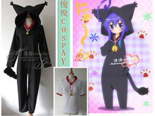 Miniwa Tsumiki the cat jumpsuits Full Set Party Uniform Cosplay Costume Any Size Free Shipping NEW