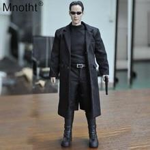 1 6 Escala NEO Matrix Keanu Reeves Hackers Outfit-4 Coleções Para 12  polegada f419feb851