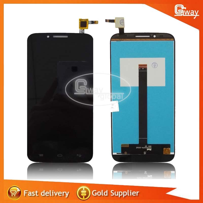 imágenes para Para Alcatel One touch Flash Plus 7054 T OT7054T ot7054 LCD Display + Touch Screen Reemplazo Digitalizador Asamblea