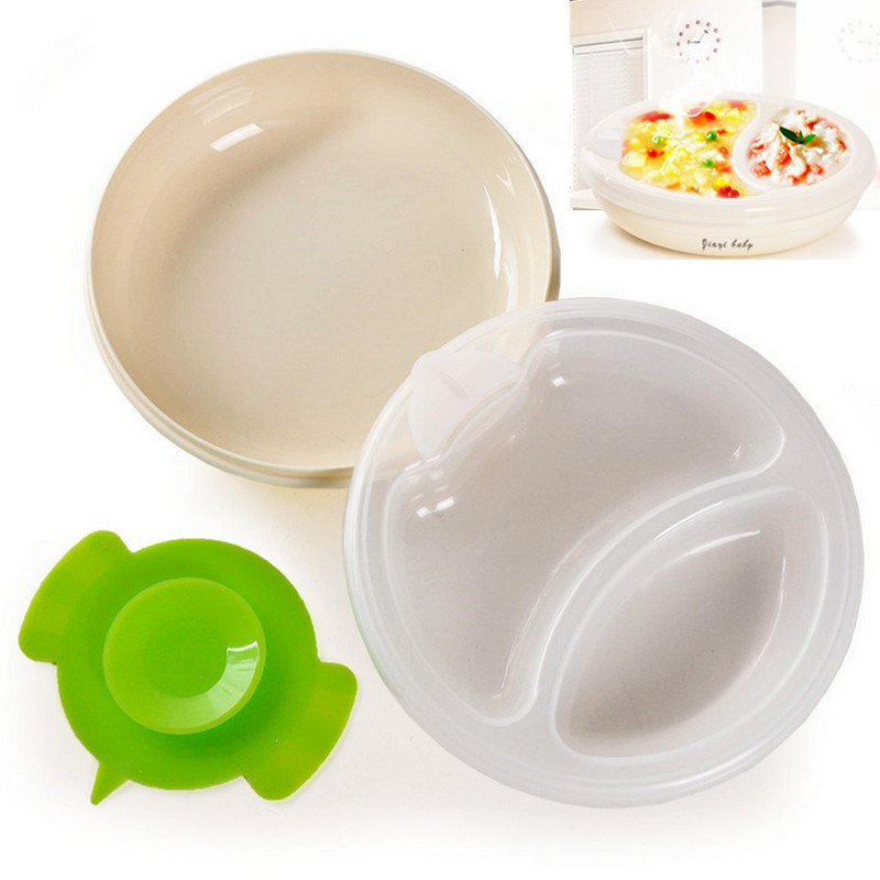 Incredible Us 11 48 Warming Plate Dish Bowl Baby Food Warmer Heat Hot Water Chamber Feeding Children Bpa Free Warming Dish Plate Pfree Shippping In Dishes Interior Design Ideas Apansoteloinfo