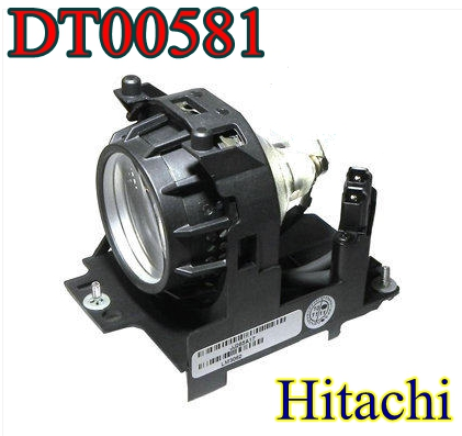 DT00581 for Hitachi Projector Lamp Bulb CP-S210 CP-S210F CP-S210T CP-S210W PJ-LC5 PJ-LC5W high quality dt00581 replacement lamp for hitachi cp s210 s210f s210t s210w pj lc5 lc5w projector bulb happybate