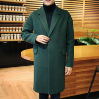 Commuter Relaxed Fashion City Woolen Jacket V Neck Trend Temperament Leisure Winter Coa