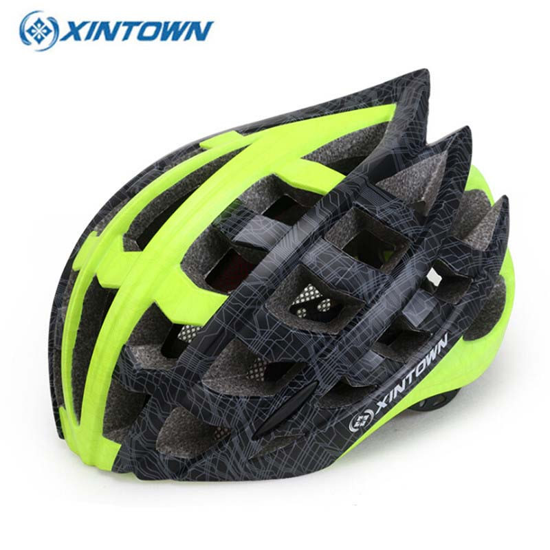 XINTOWN 2018 Cycling Helmets Integrally molde Men Women MTB Mountain Road Bike Integrally Molded Bicycle Helmets