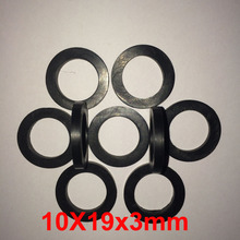 50 PCS Nitrile NBR rubber flat gasket o ring grommet faucet plumbing nozzle seal washer oil proof