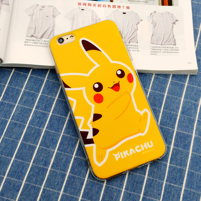 Pokemon Case Cover iPhone SE 5 5S 6 6S 7 7S & Plus