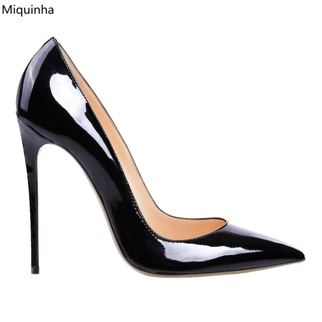 Aliexpress.com : Buy New Designer Sky High Heels Pumps Patent ...
