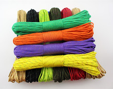 Rainbow Paracord 550 Paracord Parachute Cord Lanyard Rope  Climbing Camping /Mil Spec Type III 7Strand 100FT