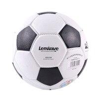 White Black Classic Style Men Football Soccer Ball Rubber Material Ball Size 4 Soccer Ball Children Training Ball