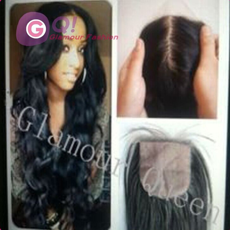 GQ 24 inch u part wig with closure perruque human hair u