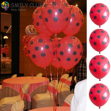12inch 100 PCS/lot Black Polka Dot  Balloon For Wedding//Birthday Party/Christmas Decoration Latex Balloons White Red Kids Gifts